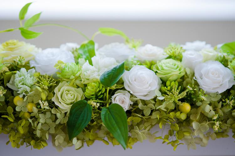 プリザーブドフラワー「花々の饗宴」その2