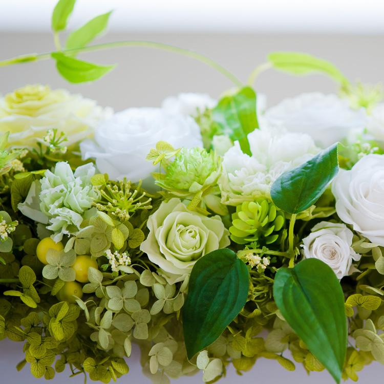 プリザーブドフラワー「花々の饗宴」の詳細その2