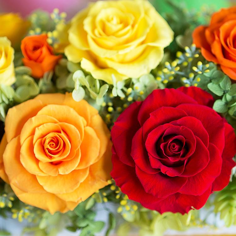 プリザーブドフラワー「お花畑」その2